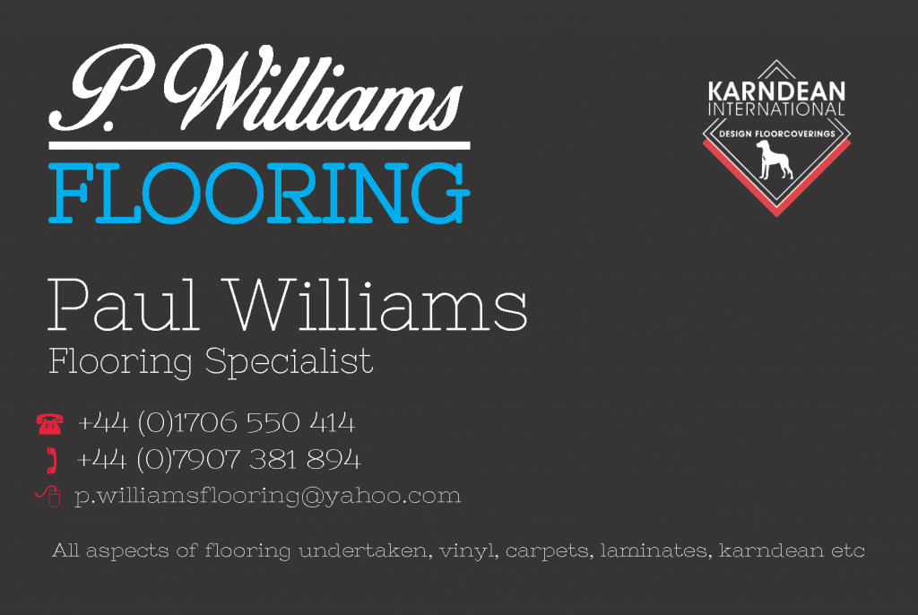 Paul Williams Business Cards | WEB DESIGNERS | ROCHDALE | OLDHAM ...